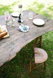 this old house picnic table casey sam picnic table table settings pinterest stools
