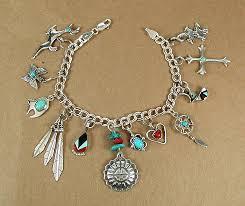 sterling bracelet charms images Charm bracelet navajo and zuni charms horsekeeping sterling silver jpg