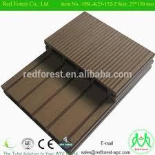 plastic wood composite wpc outdoor decking flooring landscape