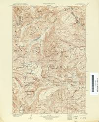 Mt Washington Map by