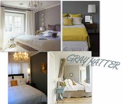 Yellow And Grey Home Decor Grey Wall Playuna