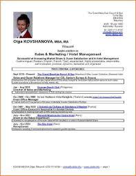 resume format for job interview pdf student exle of resume of hotel restaurant management student resume