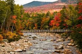 kancamagus highway aesthetic beauty white mountains
