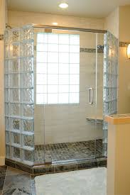 glass door in bathroom 5 myths about how to anchor a glass block shower wall