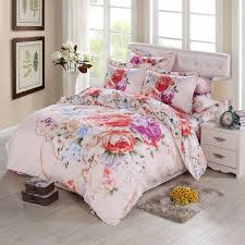 King Size Duvets Covers Aliexpress Com Buy Oriental Vintage Rose Peony 3d Watercolor