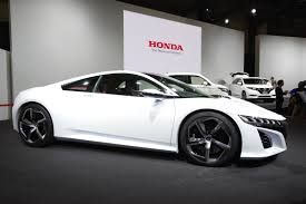 volkswagen sports car in avengers tokyo 2013 honda nsx concept in white live photos autoevolution