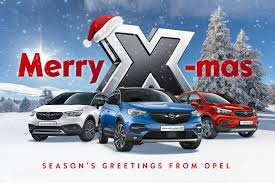 opel christmas x mas time with the x family