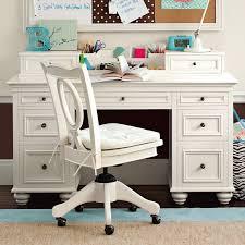 white desk for girls room chelsea desk hutch pbteen