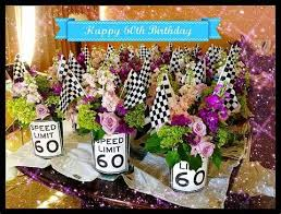 60 year birthday ideas 60th birthday centerpieces on 50th birthday