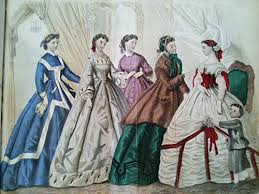 godey s fashions godey s 1863 fashion plate search christmas winter
