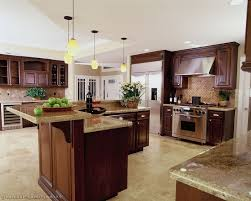 Wood Area Rug Cherry Wood Kitchen Cabinets With Black Granite Granite