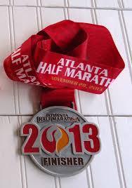 thanksgiving atlanta half marathon walking to retirement number 44 2013 atlanta half marathon