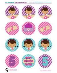 doc mcstuffins cupcake toppers doc mcstuffins party printables cupcake toppers and cupcake