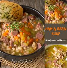 ham and bean soup art and the kitchen