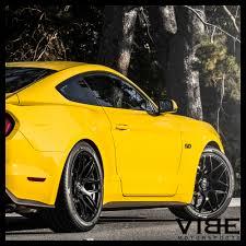 Mustang Black Rims 20