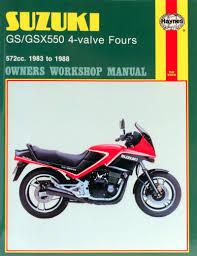haynes werkplaatshandboek voor suzuki gs 550