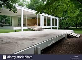 farnsworth house plano united states architect ludwig mies van