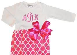 Monogram Baby Items 21 Best Personalized Baby Clothing And Accessories Images On