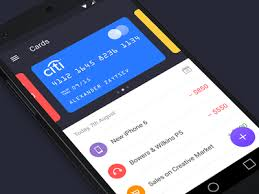 finance app for android walle finance app android by zaytsev dribbble