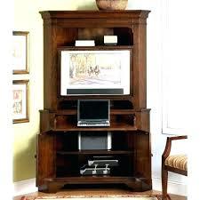 cherry corner media cabinet armoire corner media armoire convenience concepts big highboy