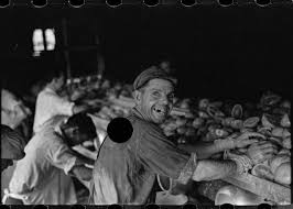 why some great depression photos were punched full holes