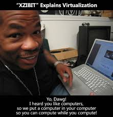 Yo Dawg Know Your Meme - xzibit explains virtualization global nerdy joey devilla s