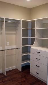 Closet Solutions Corner Closet Shelving Ideas