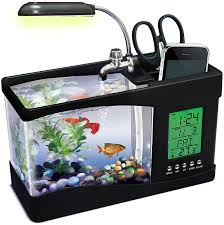 Usb Desk Accessories Usb Fishquarium Thinkgeek