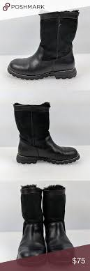 s ugg australia leather boots ugg australia s n 5381 black leather boots ugg australia s