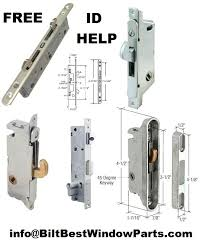 Patio Door Mortise Lock Replacement Replacement Mortise Lock Parts For Patio Doors All Brands