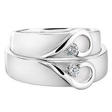 his and hers wedding 14k white gold his and wedding rings 0 14 carats 6