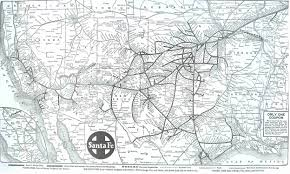 Illinois Railroad Map by Santafe