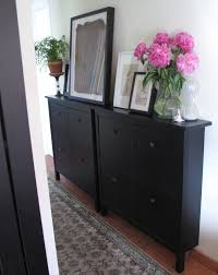 Entry Table Ikea Styling A Small Space Or Office By Re Purposing An Ikea Mud Room