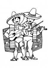 mexico coloring page music in mexico coloring page coloring home