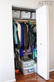 front hall closet organization pictures