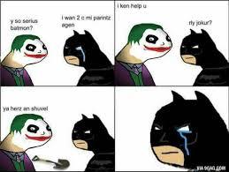 Batman Face Meme - funny batman joker batmon meme comic superheroes and villains
