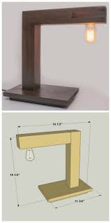 Make Wood Desk Lamp by Best 25 Modern Desk Ideas On Pinterest Modern Office Desk
