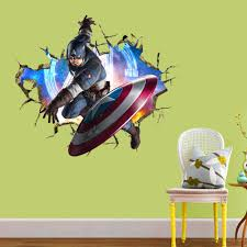 dhlemsthe avengers super hero wall stickers home decor removable