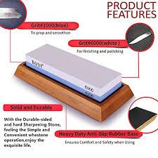 best whetstone for kitchen knives premium knife sharpening kit 2 side 1000 6000 grit whetstone