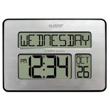 Digital Atomic Desk Clock Shop Clocks At Lowes Com