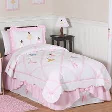 Little Girls Queen Size Bedding Sets by This Pretty Pink Ballet Bedding Set Has Detailed Satin Appliques