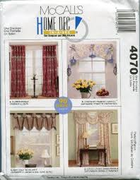 buy mccalls 3632 home decorating sewing pattern window treatments