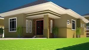 houses 3 bedroom 3d 3 bedroom bungalow plan on half plot house floor plans