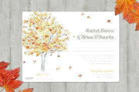 autumn wedding invitations unique fall wedding invitations simplo co