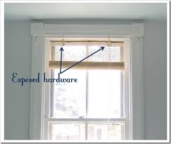 Cheap Matchstick Blinds How To Make Your Own Matchstick Blind Valances Little Victorian