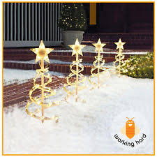 Led Christmas Pathway Lights Spiral Christmas Tree Ebay