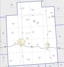 Howell Michigan Map by District 82 Map Michigan House Republicans