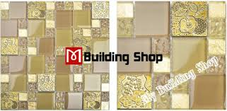 Wall Tiles In Kitchen - yellow gold glass mosaic kitchen wall tile backsplash rnmt080
