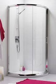 mira beam 900mm pentangle shower enclosure easy clean glass the