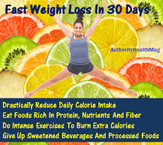 how to lose 30 pounds in a month 30 days diet plan